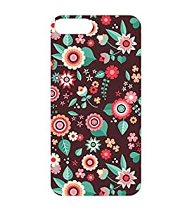 Happoz Apple Iphone 7 Plus Cases Back Cover Mobile Pouches Patterns Floral Flowers Premium Printed Designer Cartoon Girl 3D Funky Shell Hard Plastic Graphic Armour Fancy Slim Graffiti Imported Cute Colurful Stylish Boys Z037