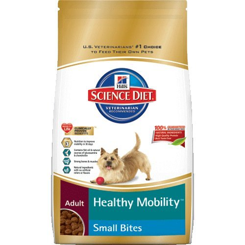 Hill's Science Diet Adult Healthy Mobility Small Bites Dry Dog Food, 15.5-Pound Bag