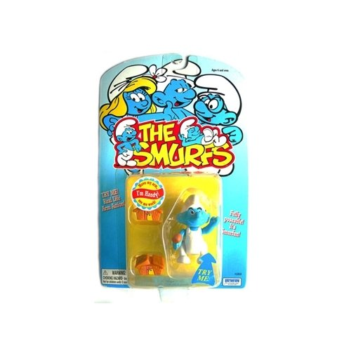 The Smurfs Handy Smurf Action Figure