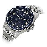 Xezo Men's Professional Pilot Diver Automatic 200 M Water Resistant Watch
