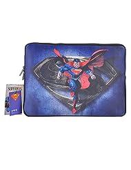 Thrumm Superman Steel 13.3-Inch Sleeve For MacBook (Multicolor)