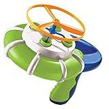 Burbuja haciendo juguetes platillo volante