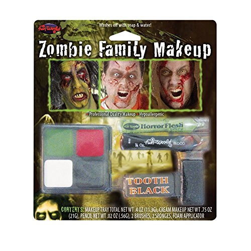 Fun World Zombie Family Make-up Kit