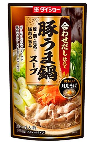 豚うま鍋スープ 750g×2本
