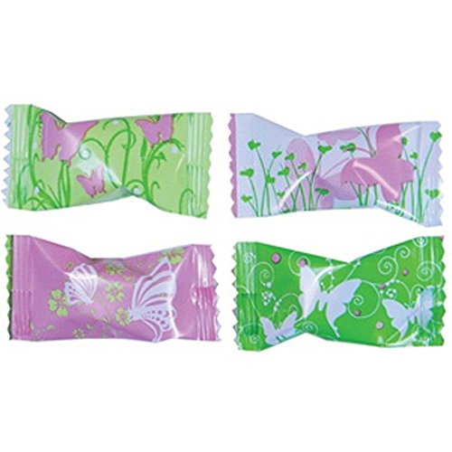 Butterflies Wrapped Buttermint Creams 50 Count