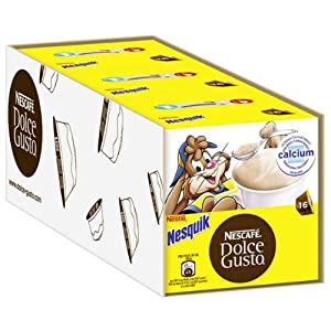 Find Nescafé Dolce Gusto Nesquik, Pack of 3, 3 x 16 Capsules from Nestlé