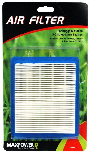 Maxpower 334305 Air Filter For Briggs & Stratton 3.5 - 5 Hp Quantum Engines