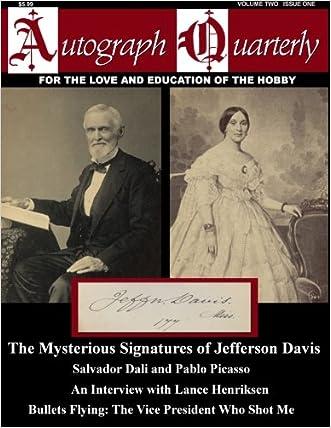 Autograph Quarterly Magazine Volume Two Issue One (Volume 2)