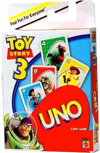 Mattel Toy Story 3 Uno Card Game - 1