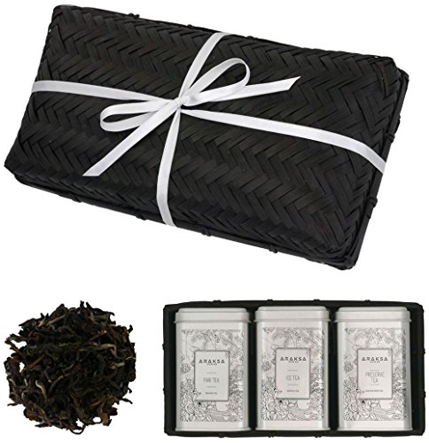Tea Sampler with 3 Natural Blends To Destress, Relax and Energize Yourself - Araksa (Kettle Spicy Thai compare prices)