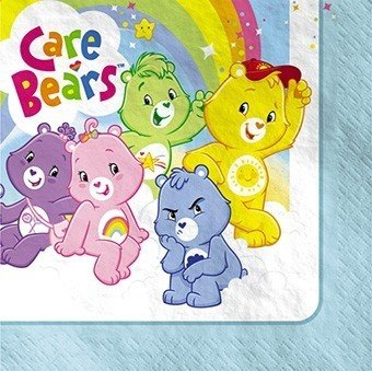 Care Bears Lunch Napkins 16Ct front-12103
