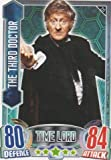 Alien Attax - 211 THE THIRD DOCTOR (Time Lord) Individual Trading Card.