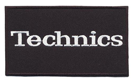Technics Aufnäher Aufbügler patches DJ Equipment Plattenspieler turntable 1210 MK2 by speedmaster-patchshop