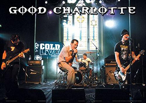 Poster Good Charlotte, Cold Live, 89 x 58,5 cm