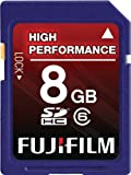 Fujifilm 8 GB Secure Digital High Capacity (SDHC) Class 6 Flash Memory Card ....