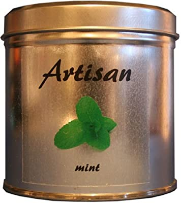 Artisan Soy Wax Mint Scented Candle Tin by Artisan Candles Ltd