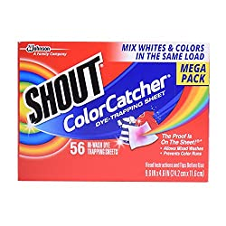 Shout Color Catcher Sheets, 56 Count