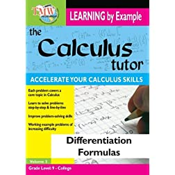 Calculus Tutor: Differentiation Formulas