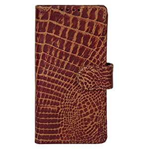 Dsas Geniune Leather Wallet Flip Cover designed for Motorola Moto G (2nd Generation)