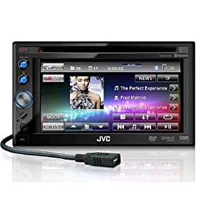 JVC KWAV50 DVD-CD-USB 6.1-Inch Screen Receiver