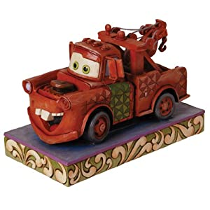 Enesco Disney Traditions by Jim Shore Mater Figurine, 4-1/2-Inch