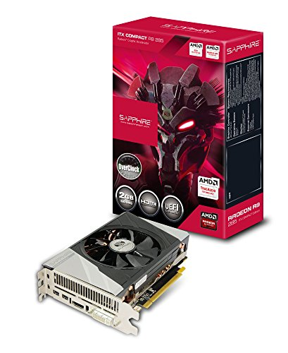 Sapphire R9 285 2G GDDR5 ITX COMPACT OC グラフィックスボード VD5480 SA-R9285-2GD5RCMP001