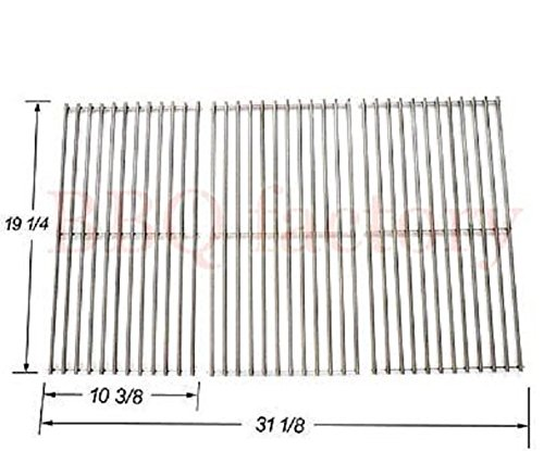 Why Should You Buy bbq factory Replacement Stainless Steel Cooking Grid Set of 3 for Select Gas Gril...