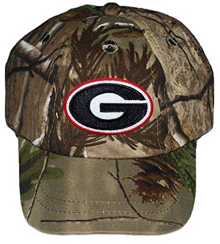 Georgia Bulldogs NCAA College Newborn RealTree Camo Camouflage Baby Hat Cap (Cap Bulldog compare prices)