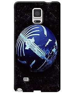 MobileGabbar Samsung Galaxy Note 4 Back Cover Plastic Hard Case