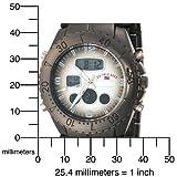 U.S. Polo Assn. Men's US8139 Gun Metal Analog-Digital Sporty Bracelet Watch
