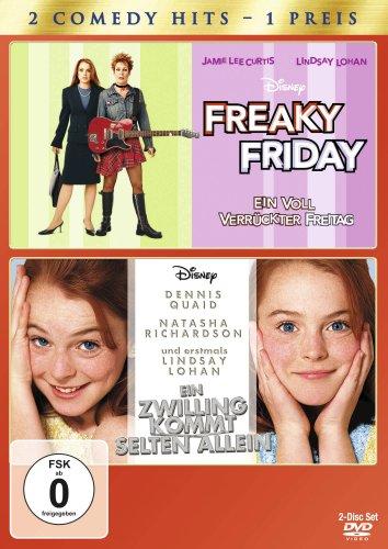 Freaky Friday / Ein Zwilling kommt selten allein [2 DVDs]