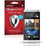 MediaDevil HTC One M7 (2013) Screen Protector: Magicscreen Crystal Clear (Invisible) Edition - (2 x Protectors)