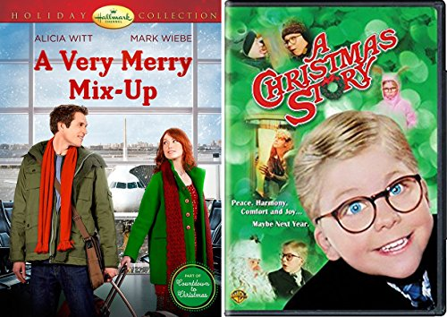 A Christmas Story DVD & A Very Merry Mix-Up Hallmark Christmas Holiday Movie Set (Merry Mix Up Movie compare prices)