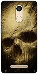The Racoon Grip Skulls hard plastic printed back case / cover for Xiaomi Redmi Note 3