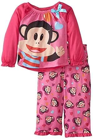 Komar Kids Little Girls'  Paul Frank Julius Junior Sleep Set, Pink, 4T