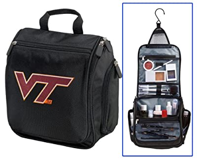 Best Cheap Deal for Virginia Tech Hokies Toiletry Bags Or Hanging Virginia Tech Shaving Kit from Broad Bay - Free 2 Day Shipping Available