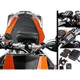 Support Moto Demontage Rapide + Coque Etanche Pour GPS Garmin Nuvi 5 Pouce Max.