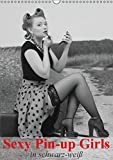 Image de Sexy Pin-up Girls in schwarz-weiß (Wandkalender 2016 DIN A3 hoch): Kesse Pin-up-Girl