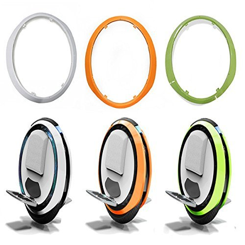 Ninebot One White/Green/Orange Colorful Protection Shell Set For C+ E+ by ING-WATCH [並行輸入品]