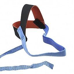 Desco 17202 ABS Plastic Static Control Heel Foot Grounder with 2 Meg Resistor