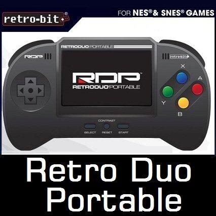 携帯用スーパーファミコン互換機 Retro Duo Portable ブラック