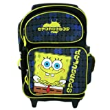 Spongebob kids travel luggage