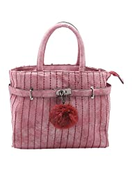 Aadaana Savvy Women's Maroon Hand-held Bag