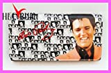 Christmas Gift - Hollywood Legends Elvis Presley Long Trifold Wallet Amazon.com