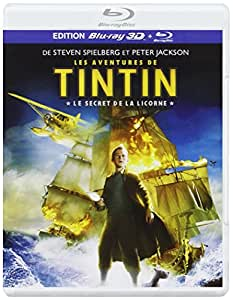 Les Aventures de Tintin : Le Secret de la Licorne - Blu-ray 3D active + Blu-ray standard