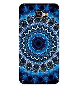 iFasho Animated Pattern design colorful flower in royal style Back Case Cover for Samsung Galaxy A9