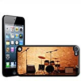 Fancy A Snuggle Warm Up Ready Drum Set and Amplifiers Hard Case Back Cover for Apple iPod Touch 5th Generation