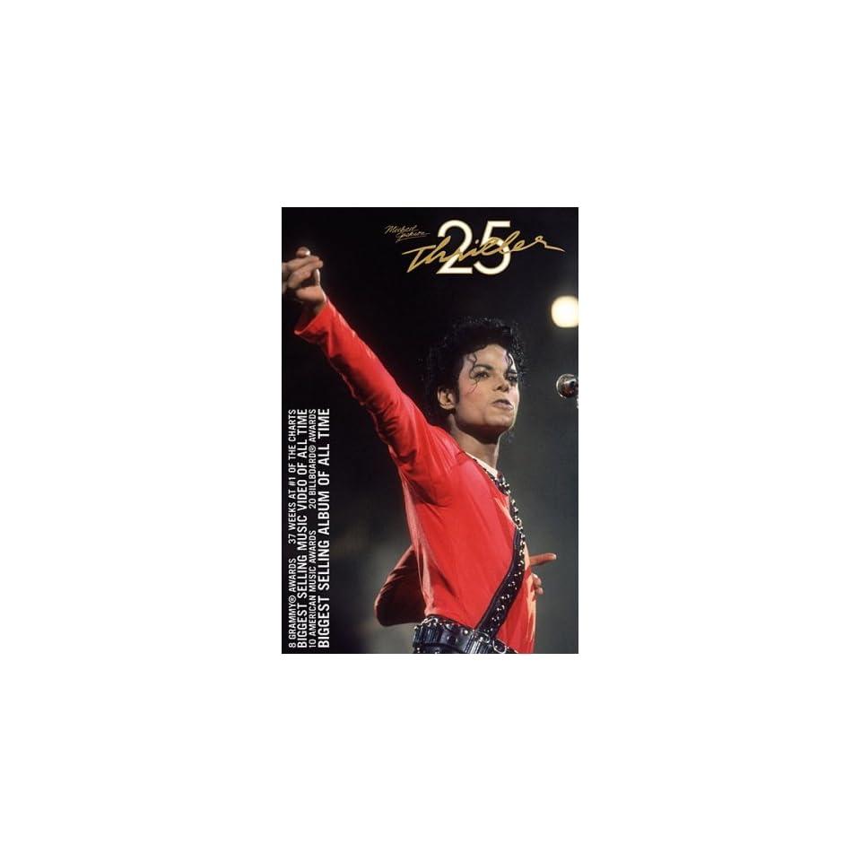 Michael Jackson    Thriller 25th Anniversary Poster