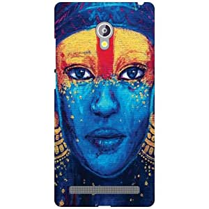 Back Cover For Asus Zenfone 6 A601CG (Printed Designer)