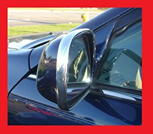 2011-2012 DODGE CHARGER CHROME SIDE MIRROR TRIM MOLDINS 2PC 11 12